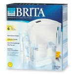 "Brita Pitcher ""Space Saver"" Water Pitcher"