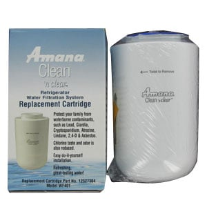 12527304 Amana Water Filter WF30, WF40, and WF401
