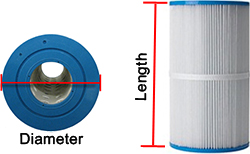 Pool Filter Measuring Guide